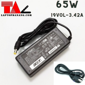 sạc laptop acer- 19vol-3-34A-65W