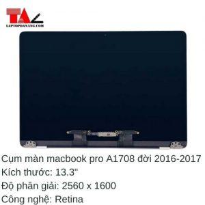 "Cụm Màn Hình Macbook Pro 13"" Retina A1708"
