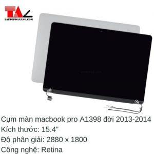 "Cụm Màn Hình Macbook Pro 15.4"" Retina A1398"