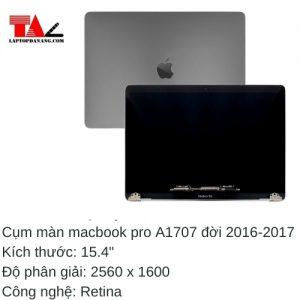 "Cụm Màn Hình Macbook Pro 15.4"" Retina A1707"