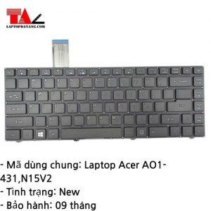 Bàn Phím Laptop Acer AO1-431 N15V2