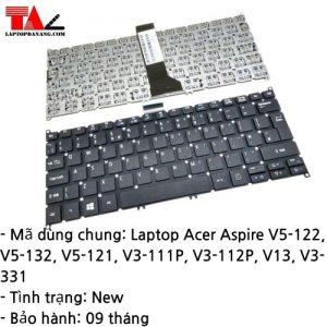 Bàn Phím Laptop Acer Aspire V5-122 V5-132 V5-121 V3-111P V3-112P V3-331