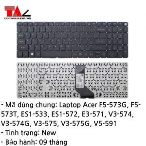 Bàn Phím Laptop Acer F5-573 ES1-533 ES1-572 E3-571 V3-574 V3-575 V5-591