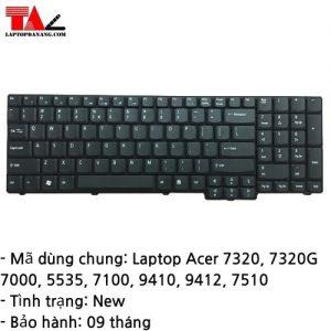 Bàn Phím Laptop Acer 7320 7320G 7000 5535 7100 9410 9412 7510
