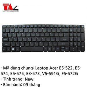 Bàn Phím Laptop Acer E5-522 E5-574 E5-575 E3-573 V5-591G F5-572G