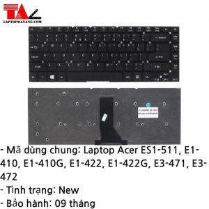 Bàn Phím Laptop Acer ES1-511 E1-410 E1-422 E3-471 E3-472