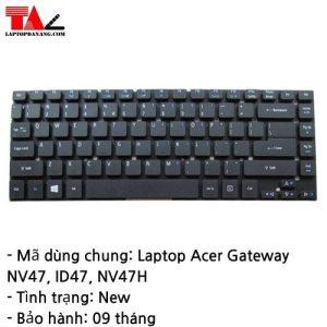 Bàn Phím Laptop Acer Gateway NV47 ID47 NV47H