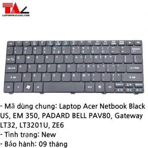 Bàn Phím Laptop Acer Gateway LT32 LT3201U ZE6