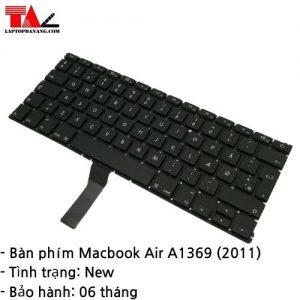 Bàn Phím Macbook Air A1369 (2011)