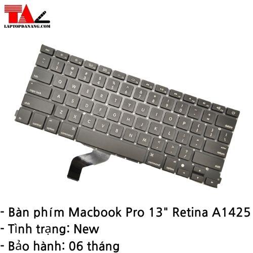 "Bàn Phím Macbook Pro Retina A1425 13"""