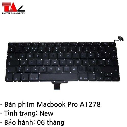 Bàn Phím Macbook Pro A1278
