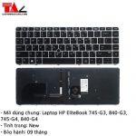 Bàn Phím Laptop HP EliteBook 745-G3 840-G3 745-G4 840-G4