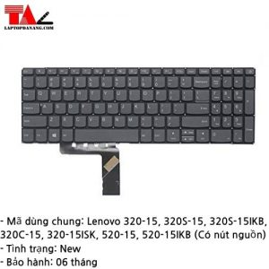 Bàn Phím Laptop Lenovo IdeaPad 320-15 520-15